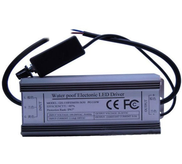 Waterproof Dimmable Led Driver for HERO-LED 100W Led Emitter
